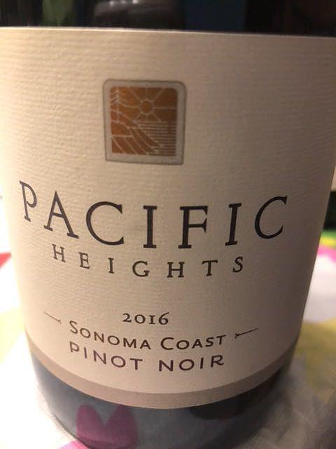 Pacific Heights Sonoma Coast Pinot Noir(パシフィック・ハイツ ソノマ・コースト ピノ・ノワール)