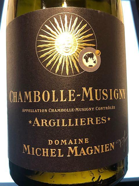 Dom. Michel Magnien Chambolle Musigny Argillieres(ドメーヌ・ミッシェル・マニャン シャンボール・ミュジニー アルジリエール)