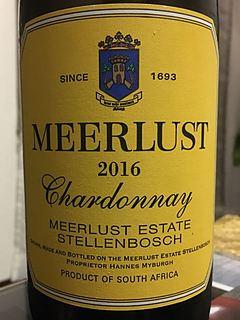 Meerlust Chardonnay(ミヤルスト シャルドネ)
