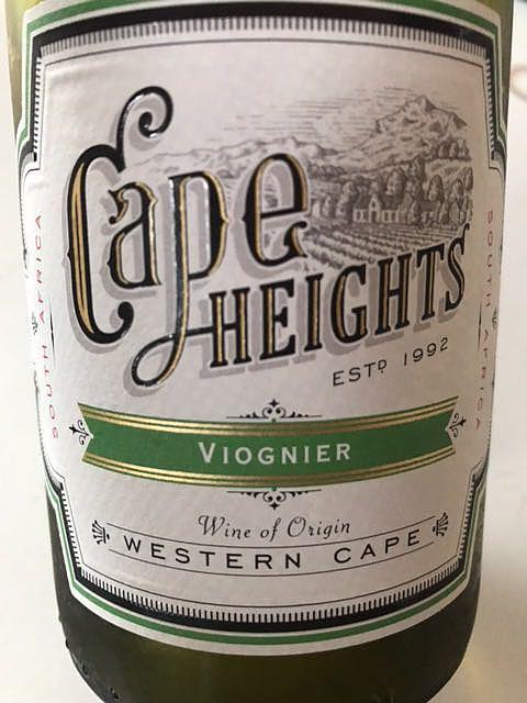 Cape Heights Viognier(ケープ・ハイツ ヴィオニエ)