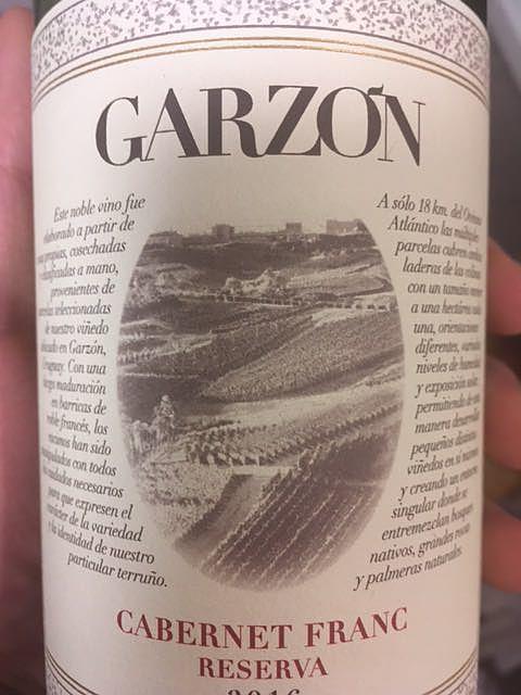 Garzón Cabernet Franc Reserva