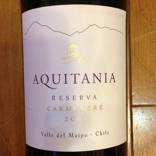 Aquitania Carmenere Reserva