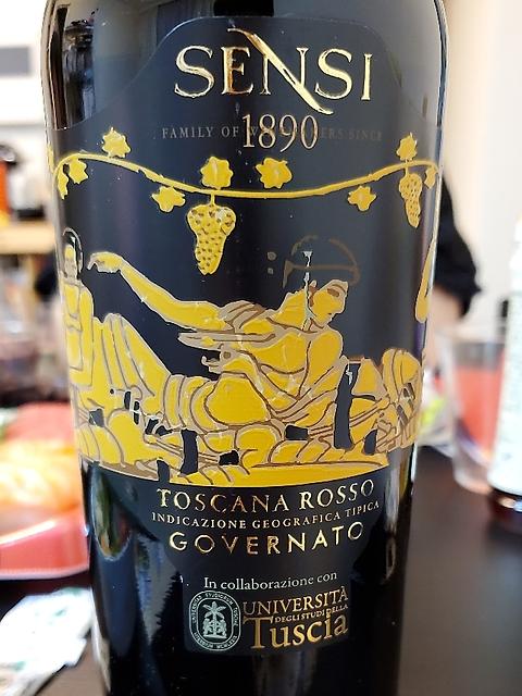 Sensi Governato Toscana Rosso(センシィ ゴヴェルナート トスカーナ・ロッソ)