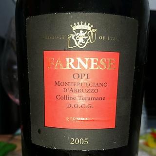 Fantini (Farnese) Opi Montepulciano d'Abruzzo Riserva Colline Teramane