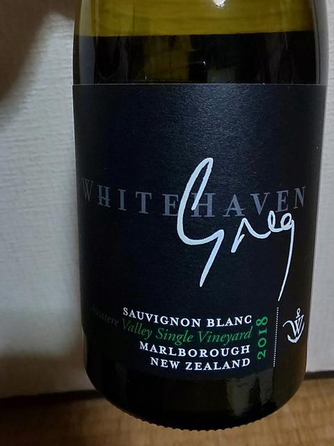 Whitehaven Greg Awatere Valley Single Vineyard Sauvignon Blanc