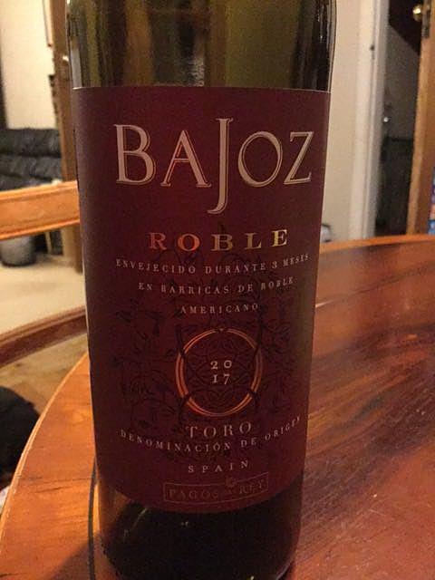 Pagos del Rey Bajoz Roble(パゴス・デル・レイ バホス ロブレ)