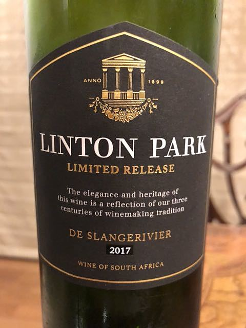 Linton Park De Slange Rivier Limited Release