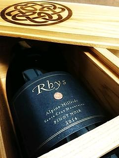 Rhys Alpine Hillside Pinot Noir(リース アルパイン・ヒルサイド ピノ・ノワール)