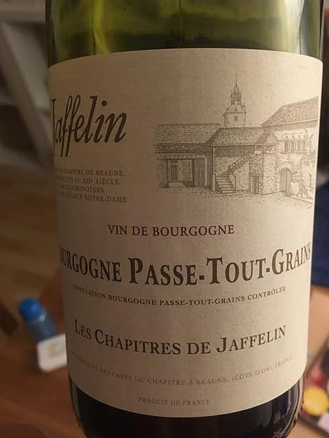 Jaffelin Bourgogne Passe Tout Grains Les Chapitres de Jaffelin