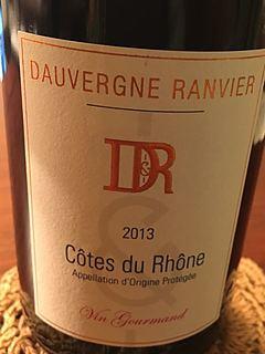 Dauvergne Ranvier Côtes du Rhône Rouge Grand Vin