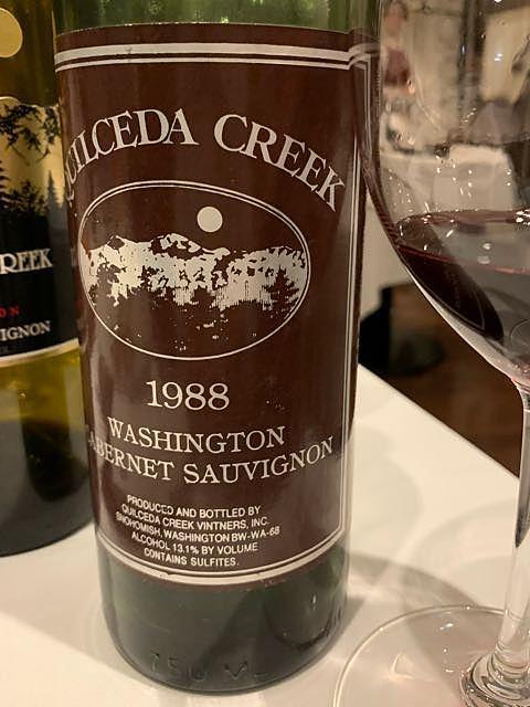 Quilceda Creek Cabernet Sauvignon 1988