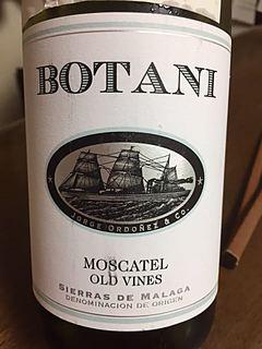 Botani Moscatel Old Vines(ボタニ モスカテル オールド・ヴァインズ)