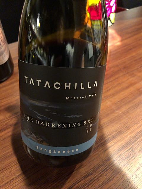 Tatachilla The Darkening Sky Sangiovese