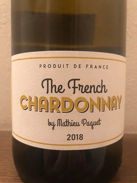 The French Chardonnay by Mathieu Paquet(ザ・フレンチ・シャルドネ マチュー・パケ)