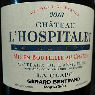 Ch. l'Hospitalet La Réserve Rouge