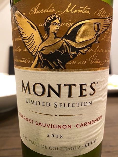 Montes Limited Selection Cabernet Sauvignon Carménère(モンテス リミテッド・セレクション カベルネ・ソーヴィニヨン カルメネーレ)