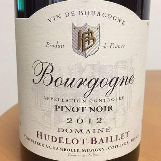 Dom. Hudelot Baillet Bourgogne Pinot Noir(ドメーヌ・ユドロ・バイエ ブルゴーニュ ピノ・ノワール)