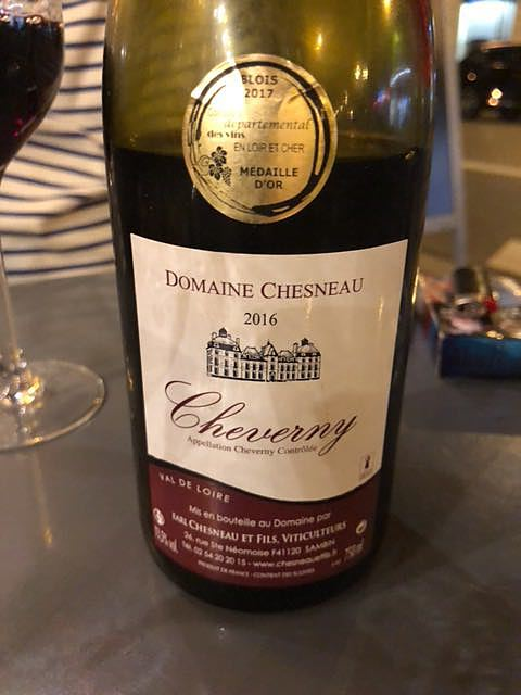Dom. Chesneau Cheverny Rouge