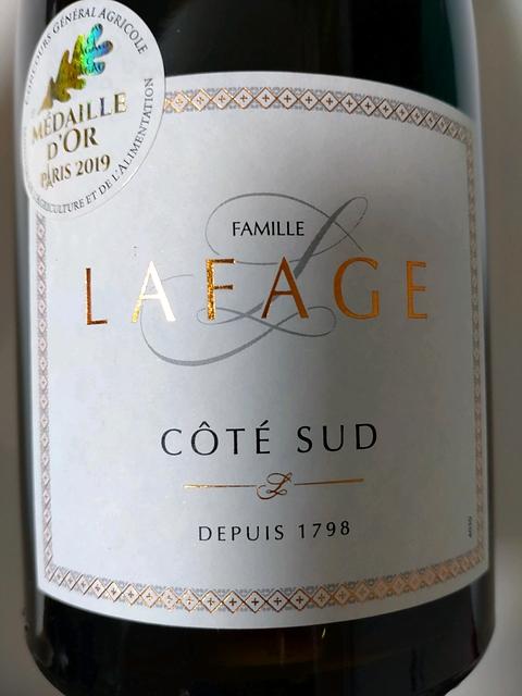 Dom. Lafage Côté Sud(ドメーヌ・ラファージュ コテ・シュッド)