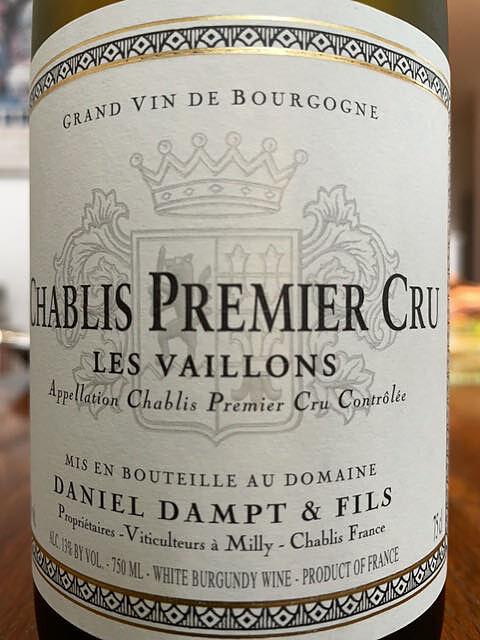 Daniel Dampt & Fils Chablis 1er Cru Les Vaillons(ダニエル・ダンプ・エ・フィス シャブリ プルミエ・クリュ ヴァイヨン)