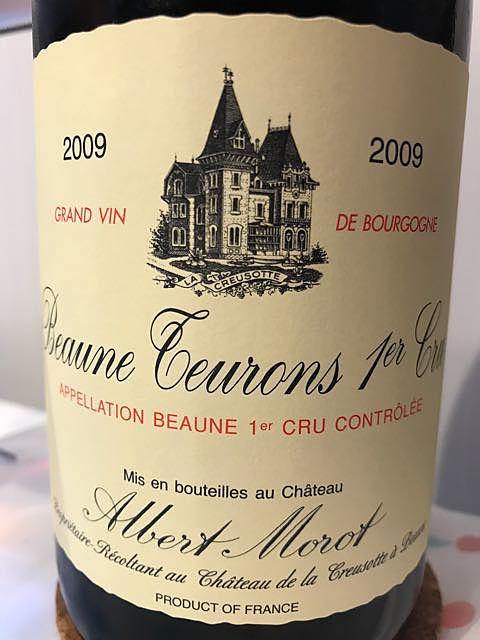 Albert Morot Beaune Teurons 1er Cru(アルベール・モロ ボーヌ トゥーロン プルミエ・クリュ)