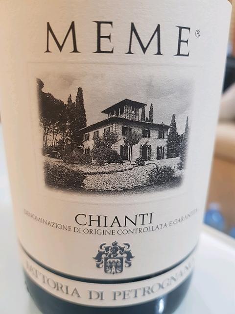 Fattoria di Petrognano Meme Chianti(ファットリア・ディ・ペトロニャーノ ミーム キャンティ)