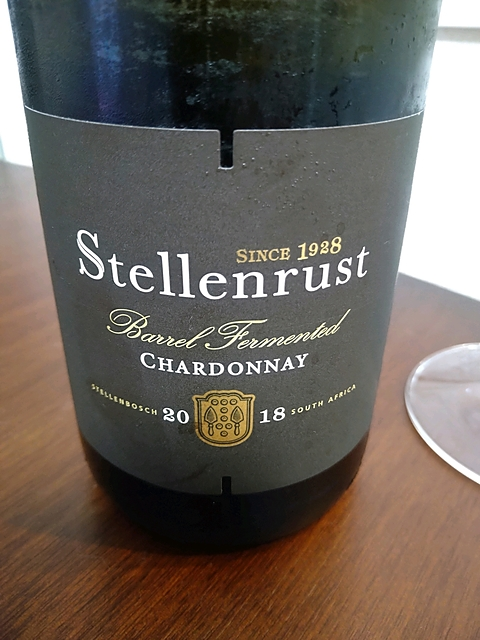 Stellenrust Barrel Fermented Chardonnay(ステレンラスト バレル・ファーメンテッド シャルドネ)