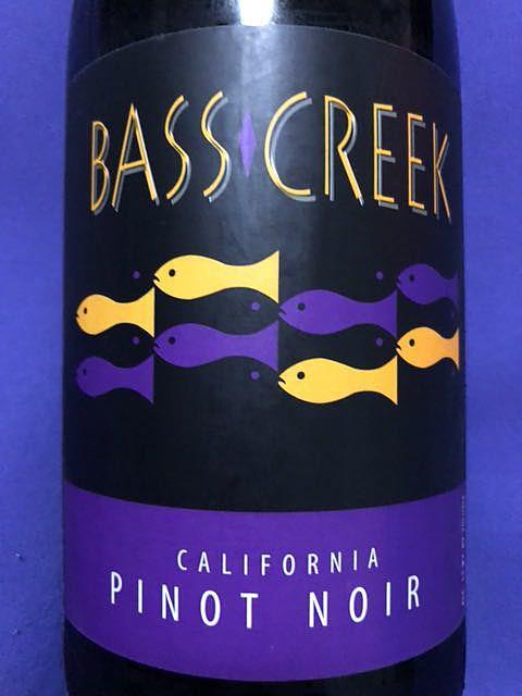 Bass Creek Pinot Noir(バス・クリーク ピノ・ノワール)