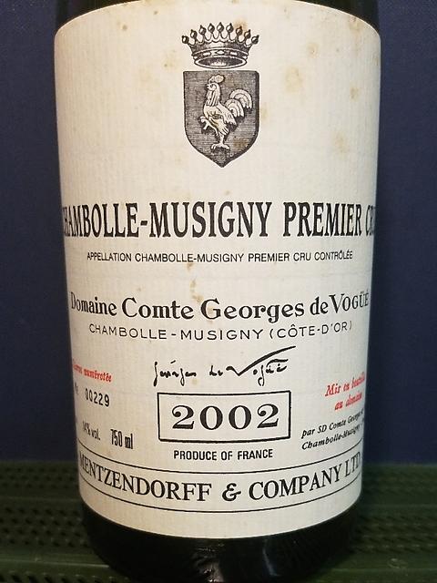Dom. Comte Georges de Vogüé Chambolle Musigny 1er Cru