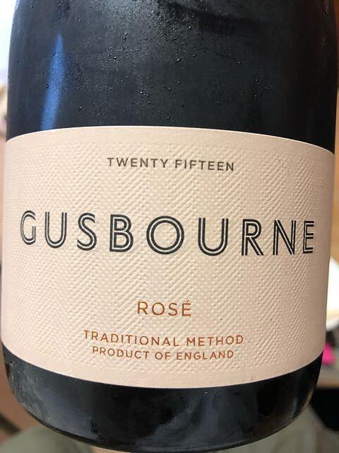 Gusbourne Sparkling Rosé(ガズボーン スパークリング ロゼ)