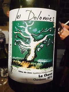 Les Dolomies La Chaux Chardonnay(レ・ドロミー レ・ショー シャルドネ)