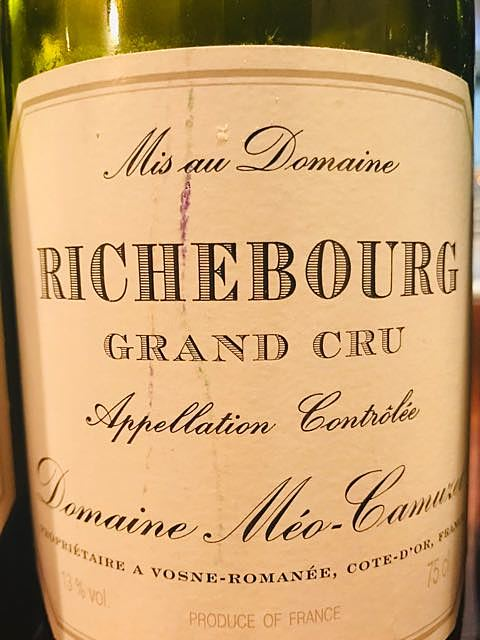 Dom. Méo Camuzet Richebourg Grand Cru