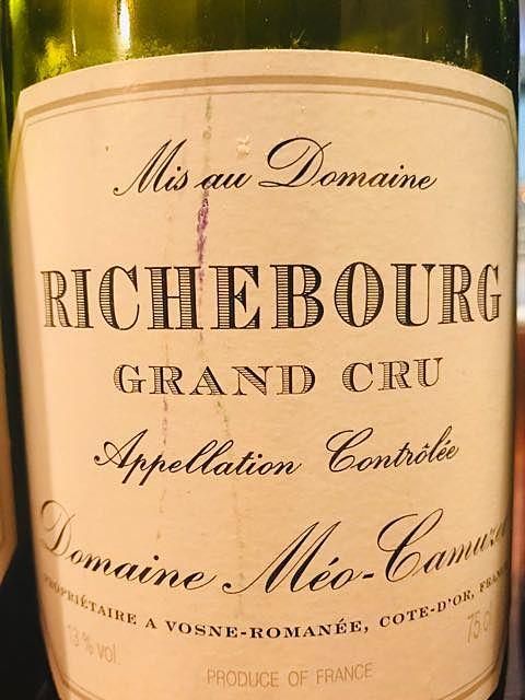 Dom. Méo Camuzet Richebourg Grand Cru(ドメーヌ・メオ・カミュゼ リッシュブール グラン・クリュ)