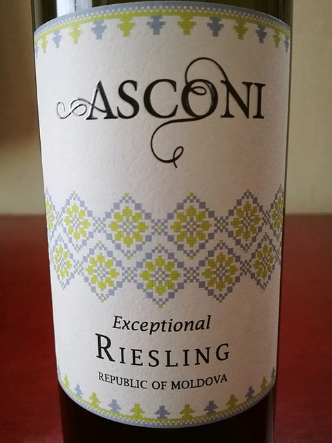 Asconi Exceptional Riesling(アスコニ エクセプショナル リースリング)