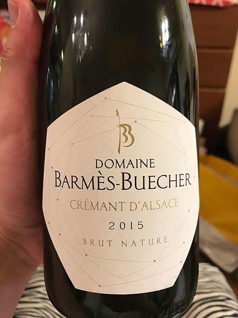 Dom. Barmès Buecher Crémant d'Alsace Brut Nature(ドメーヌ・バルメ・ブシェール クレマン・ダルザス ブリュット・ナチュール)