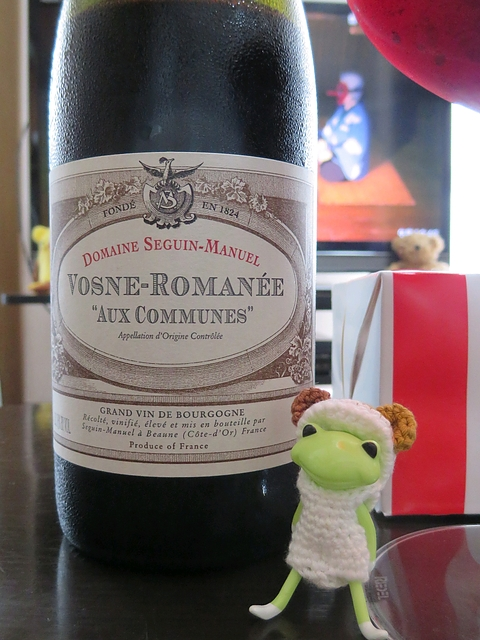 Dom. Seguin Manuel Vosne Romanee Aux Communes(ドメーヌ・セガン・マニュエル ヴォーヌ・ロマネ オー・コミューン)