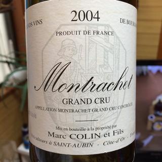 Marc Colin et Fils Montrachet Grand Cru(マルク・コラン・エ・フィス モンラッシェ グラン・クリュ)