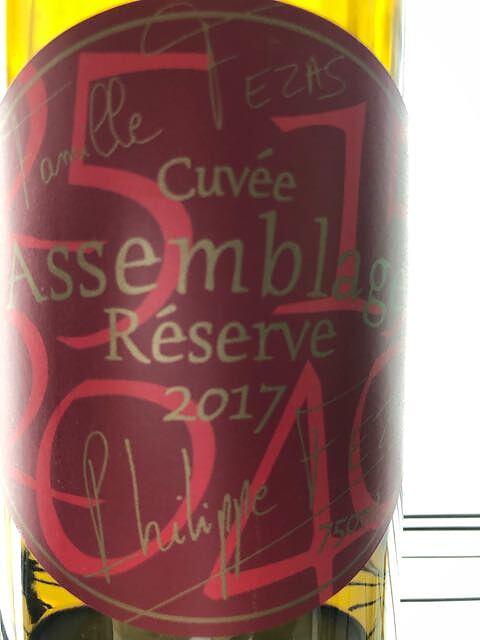 Famille Fezas Cuvée Assemblage Rouge(ファミーユ・フェザ キュヴェ・アッサンブラージュ ルージュ)