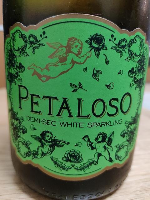 Petaloso Demi Sec White Sparkling