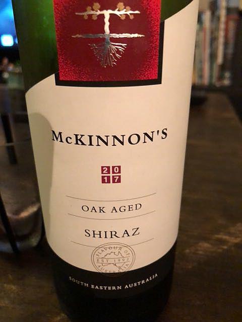 Mckinnon's Shiraz Oak Aged(マッキノンズ シラーズ オーク・エイジド)
