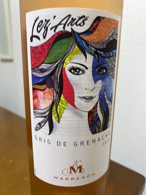 Marrenon Lez'Arts Gris de Grenache(マレノン レザール グリ・ド・グルナッシュ)