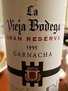 ラ・ビエハ・ボデガ グラン・レセルバ ガルナッチャ(1995)