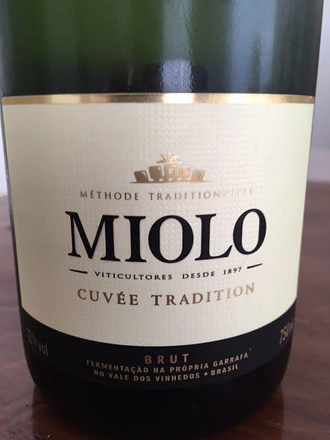 Miolo Cuvée Tradition Brut(ミオーロ キュベ・トラディション ブリュット)