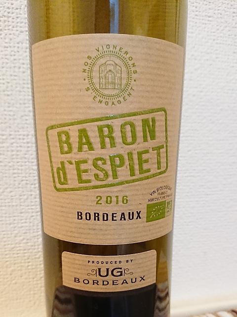 Baron d'Espiet Bordeaux Rouge