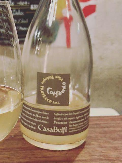 Casa Belfi Colfondo Vino Biologico Prosecco(カーサ・ベルフィ コルフォンド ヴィノ・ビオロジコ プロセッコ)