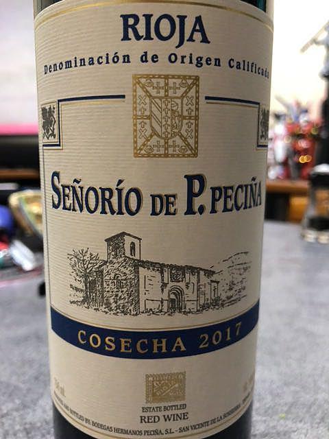 Señorío de P. Peciña Cosecha (Joven)(セニョリオ・デ・P・ペチーナ コセチャ)