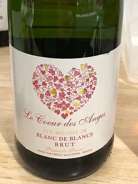 Le Coeur des Anges Blanc de Blancs Brut(ル・クール・デ・アンジュ ブラン・ド・ブラン ブリュット)