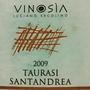 ヴィノジア タウラージ サンタンドレア(2009)