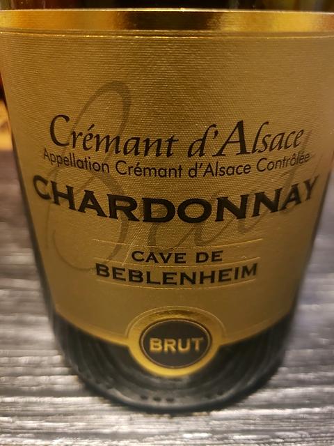 Cave de Beblenheim Crémant d'Alsace Chardonnay Brut(カーヴ・ド・ベブレンハイム クレマン・ダルザス シャルドネ ブリュット)
