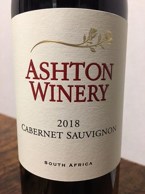 Ashton Winery (Ashton Kelder) Cabernet Sauvignon
